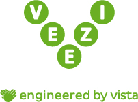Veezi engineered by vista logo